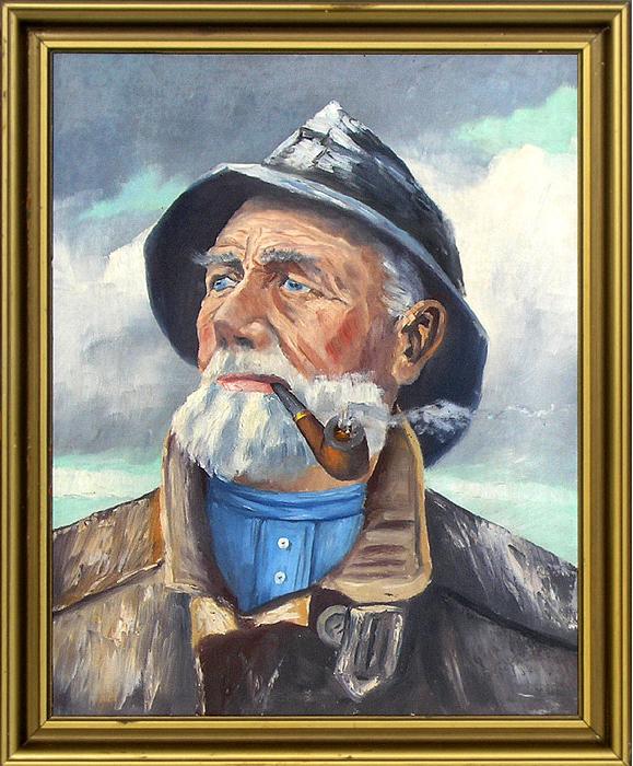 Fiskeren maleri